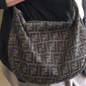 Fendi hobo bag, like new!